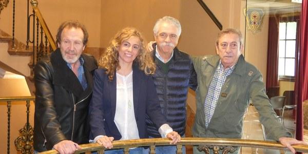 El Teatro Lope de Vega acoge la representación de 'Héroes', con Luis Varela, Juan Gea e Iñaki Miramón