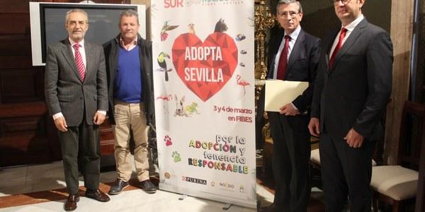 El Zoosanitario Municipal y FIBES impulsan las adopciones de animales en el marco de la feria SurMascotas con incentivos para las familias