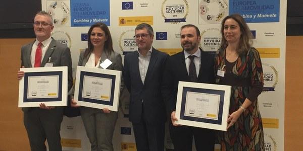 Emasesa recibe la medalla de oro de la Semana Española de Movilidad Sostenible 2018
