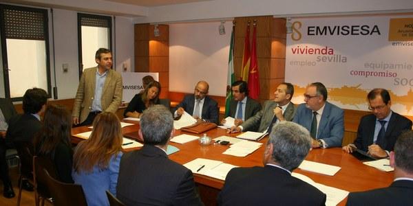 Emvisesa constituye la Mesa Sectorial Financiera y la Comisión Especial de Seguimiento de Ocupaciones Irregulares