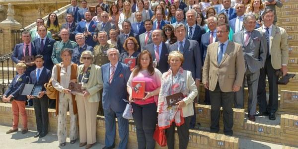 Entrega de premios XXXIII Exhibición de Enganches de la Feria de Sevilla