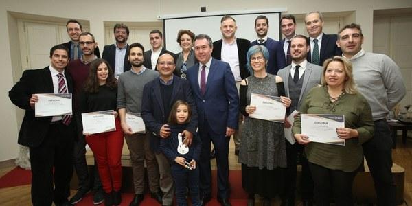 Entregados los galardones de la I edición de los Premios Talentolab