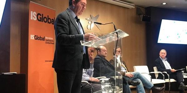 Espadas defiende en Barcelona el modelo de ciudad saludable basado en la movilidad sostenible y el urbanismo de proximidad