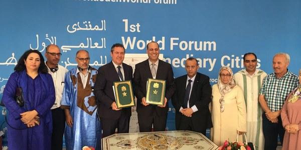Espadas participa en Chefchaouen, Marruecos, en el I Foro Mundial de Ciudades Intermedias para analizar su papel en los objetivos globales de la ONU como el desarrollo sostenible y la lucha contra el cambio climático