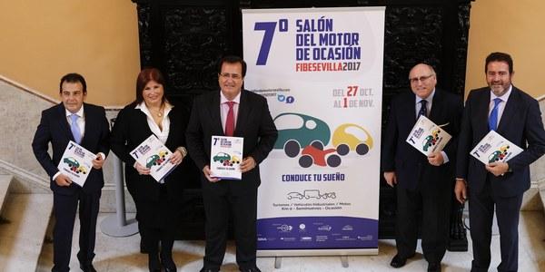 Fibes acoge del 27 de octubre al 1 de noviembre la séptima edición del Salón del Motor de Ocasión de Sevilla