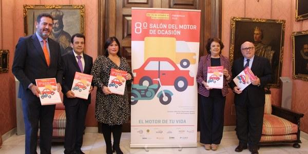 FIBES acoge el 8º Salón del Motor  de Ocasión de Sevilla entre el 31 de octubre y el 4 de noviembre