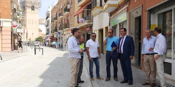 Finaliza la reurbanización de la calle Francisco Carrión Mejías