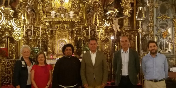 Firma del convenio para las obras de conservación de la Capillita de San José