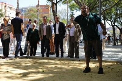 Inauguración Juan A Cavestany