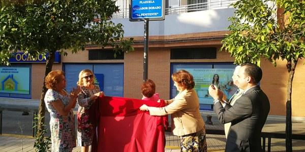 Inauguración de la Plaza Salvador Dorado 'El Penitente'