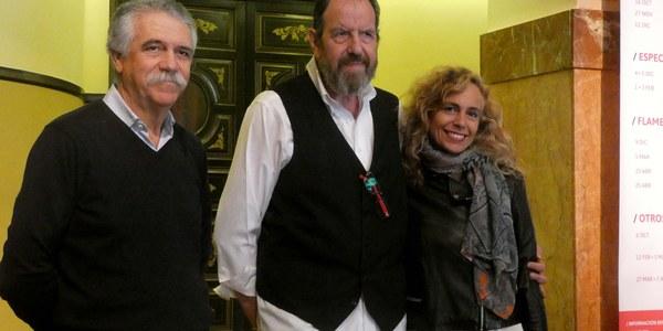 Josep María Pou interpreta a Ahab en la versión de Andrés Lima de 'Moby Dick', que llega mañana al Teatro Lope de Vega