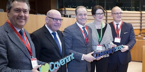 Juan Espadas formará parte del Consejo de Gobierno del Pacto Europeo de Alcaldes por el Clima