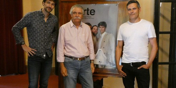 Kamikaze Producciones llega al Teatro Lope de Vega con su montaje 'Arte', de Yasmina Reza