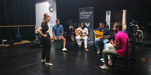 La bailaora Isabel Bayón se busca a sí misma en 'Yo soy', la creación que estrenará en la XX Bienal de Flamenco