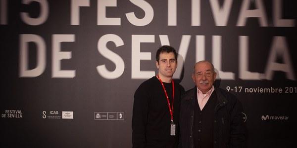 La Bienal de Flamenco respalda el trabajo de José Herrera en 'Cazatalentos', un corto que se presenta hoy en el Festival de Cine de Sevilla con el flamenco inclusivo como protagonista