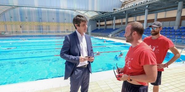 La campaña de verano en las piscinas municipales cierra con 61.328 usuarios y el incremento del programa de baño social en un 35 por ciento