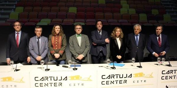 La ciudad gana un nuevo equipamiento cultural con la apertura de Cartuja Center Cite