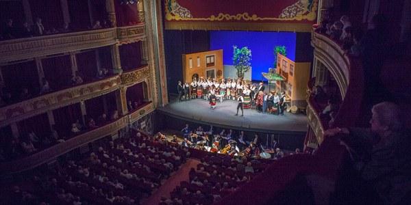 """La Compañía Sevillana de Zarzuela interpreta """"La rosa del azafrán"""" en el Teatro  Lope de Vega los próximos 4 y 5 de diciembre"""