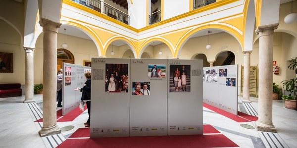La exposición itinerante '20 años In Memoriam' de la Fundación Alberto Jiménez-Becerril visita los hospitales Macarena y Virgen del Rocío y el Ayuntamiento de Sevilla hasta el finales de septiembre