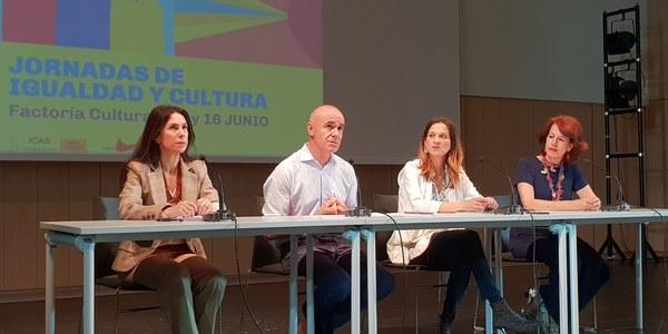 La Factoría Cultural acoge las 'Jornadas de Igualdad y Cultura', organizadas por el ICAS y la Unión de Actores y Actrices