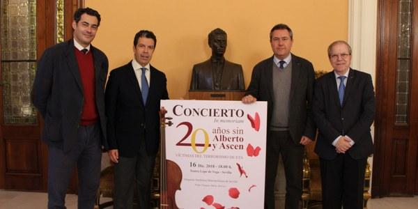 La Fundación Alberto Jiménez-Becerril celebra el 16 de diciembre el concierto solidario 'In Memoriam. 20 años sin Alberto y Ascen' en el Lope de Vega