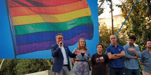 La Manifestación del Orgullo de Andalucía y las actividades del Ayuntamiento para celebrar el Mes de la Diversidad Sexual cosechan un gran éxito en un ambiente participativo y reivindicativo