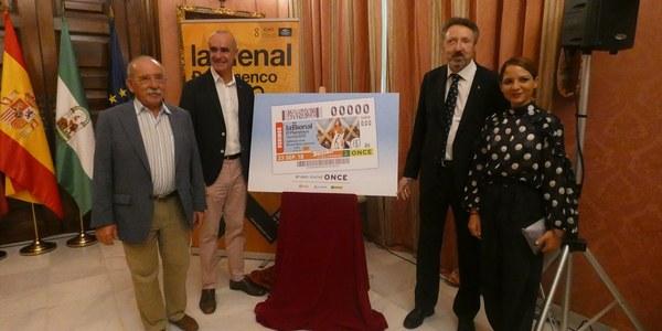 La Once dedicará el sorteo de su cupón del domingo a la Bienal de Flamenco