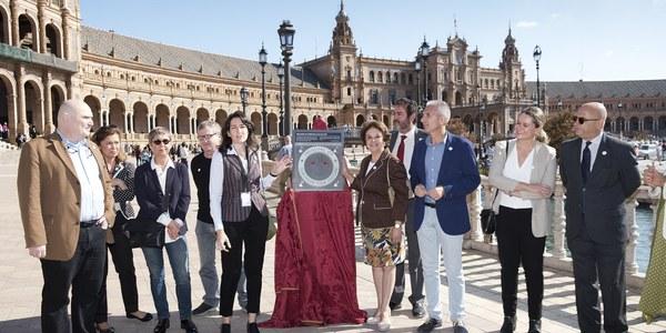 La Plaza de España de Sevilla recibe la distinción de Tesoro de la Cultura Cinematográfica Europea por parte de la EFA