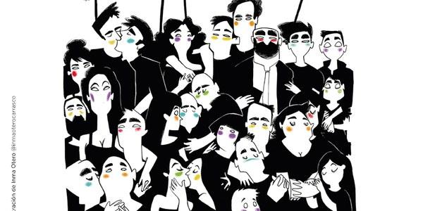 La Sala Atín Aya acoge la exposición 'Sacando los colores. 40 años de Orgullo', de Garabattagge Ilustra