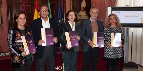 La tasa de sobrepeso y obesidad infantil en Sevilla desciende siete puntos respecto a 2010 según un estudio del Ayuntamiento que la sitúa en el 32% de los alumnos de Educación Primaria
