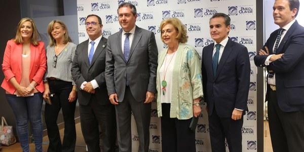 La Universidad Pablo de Olavide inaugura una nueva sede en el centro de la ciudad con el respaldo del Ayuntamiento de Sevilla