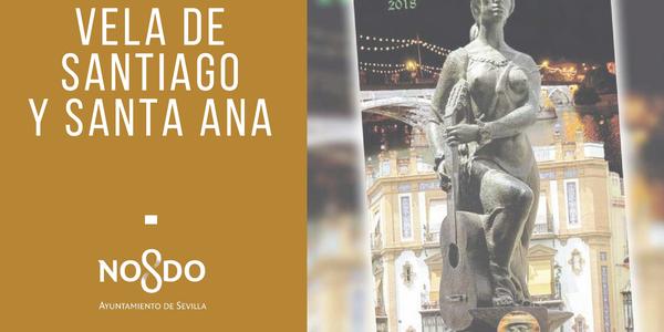 La Velá de Santiago y Santa Ana arranca mañana en el Hotel Triana con el pregón de Francisco Rivera Ordóñez, la entrega de las distinciones y un concierto de la Banda Sinfónica Municipal de Sevilla