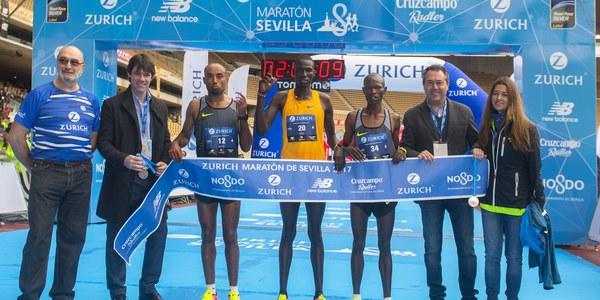 La Zúrich Maratón de Sevilla acogerá el Campeonato de España, clasificatorio para el Europeo de Berlín 2018