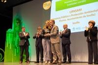 LIPASAM recibe el premio RAEE-implícate por su buena gestión de los Puntos Limpios