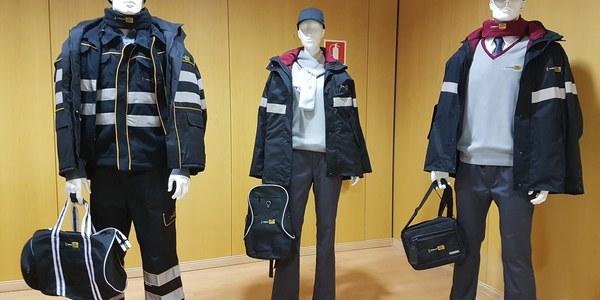 Los trabajadores de Tussam lucirán nuevos uniformes y complementos a partir de febrero que reúnen confort, funcionalidad y seguridad