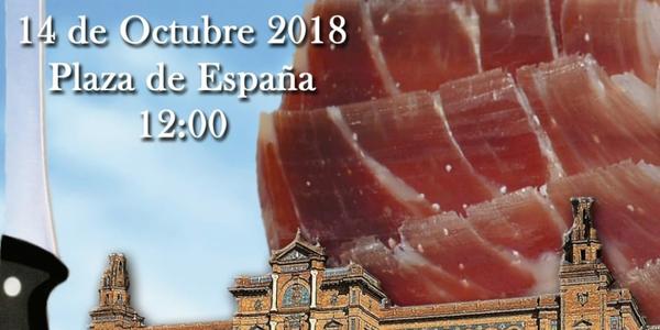 Más de 20.000 lonchas de unos  30 jamones protagonizan el V Concurso de Cortadores de Jamón Ciudad de Sevilla