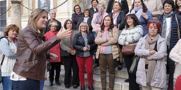 Más de 270 personas participan en las 'Rutas con nombre de mujer' del Otoño Feminista protagonizadas por La Roldana, Pompeya Plotina o la Infanta María Luisa