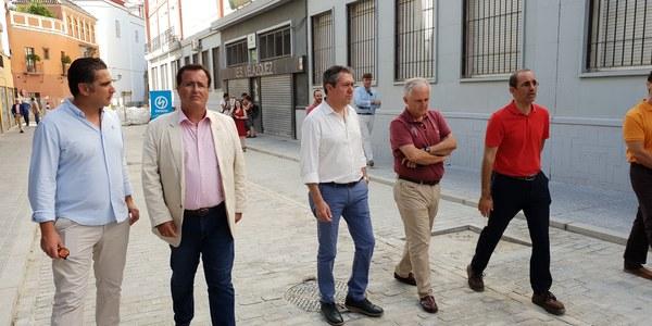 Más de 40 obras de mejora de calles y plazas de toda la ciudad