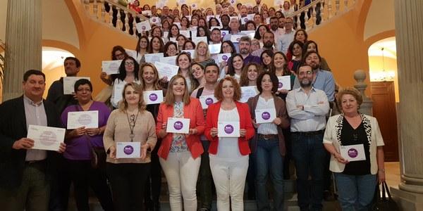 Más de 50 asociaciones, entidades y clubes forman parte de la Red de Espacios Libres de Violencia de Género en su primera edición