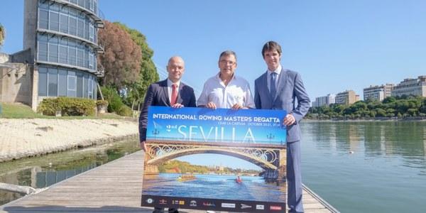 Más de 900 deportistas participarán en la II Regata Internacional de Remo para Veteranos de Sevilla