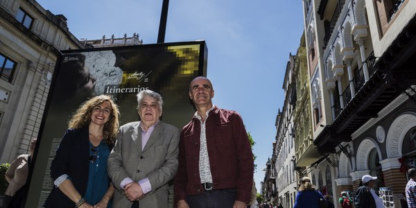 Murillo sale a la calle con una exposición en la Avenida de la Constitución