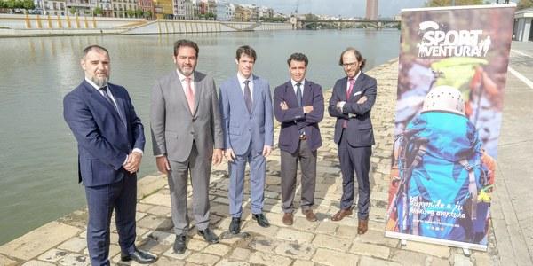 Nace SportVentura, la feria del turismo activo de Sevilla dedicada a profesionales y público en general