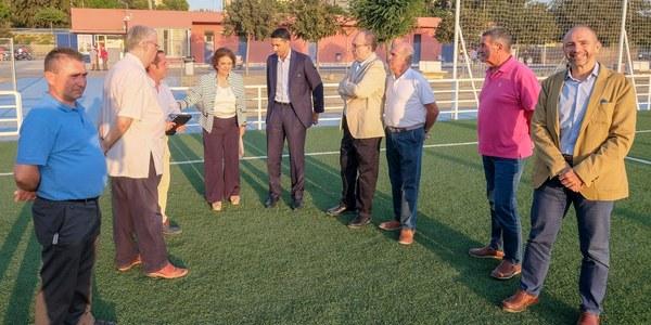 Nuevas mejoras en el Centro Deportivo Vega de Triana