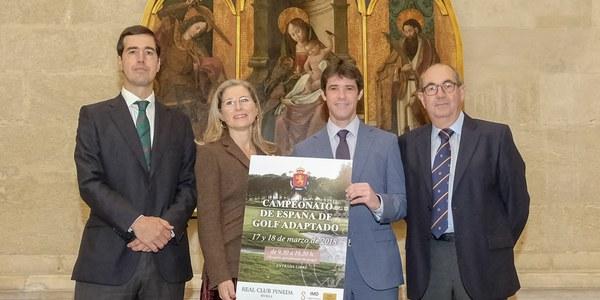 Pineda volverá a acoger a los 30 mejores golfistas nacionales en el Campeonato de España Adaptado