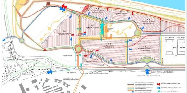 El Plan Especial de Movilidad para la Feria de Abril de 2018 se activa este sábado a las 08.00 horas con cambios de sentido y cortes de tráfico en algunas vías próximas al Real