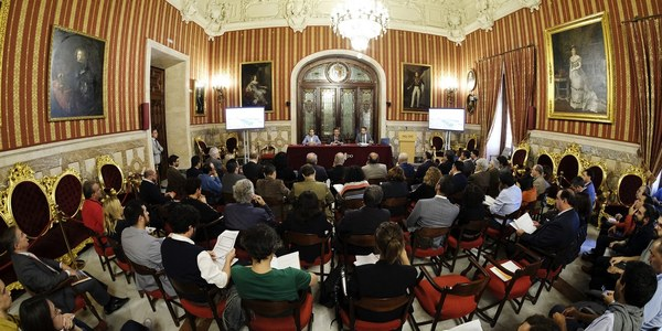 Presentación del programa inicial de proyectos para el quinto centenario de la primera vuelta al mundo