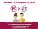 Promoción por el 10º aniversario de Sevici