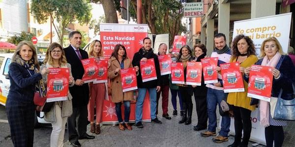 Puesta en marcha de la campaña #yocomproenmibarrio para incentivar el consumo en el comercio de proximidad estas Navidades