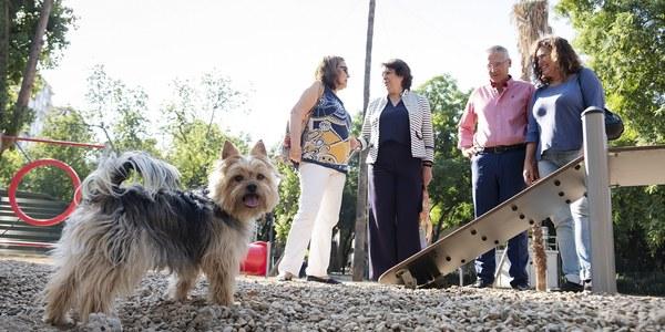 Reabre la zona de esparcimiento canino del Parque de Los Príncipes