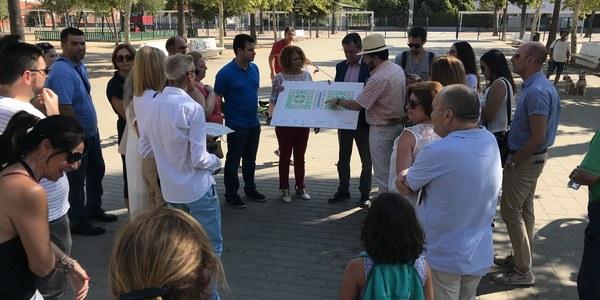 Reforma integral de la plaza del Sector 10 de Sevilla Este